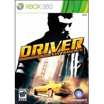 Driver San Francisco Xbox 360 Mídia Física Lacrado Ntsc