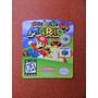 Label Super Mario 64 - Etiquetas Fitas N64 Extra 100% !