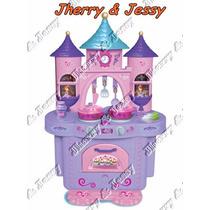 Cozinha Infantil Princesinha Sofia Da Disney E Acessórios