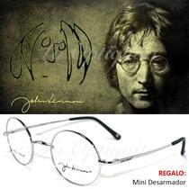 Armazon Lentes Beatles John Lennon Retro Oficial Titanio L06