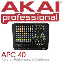 Akai Apc40 Controlador Ableton Live Para Djs O Productores