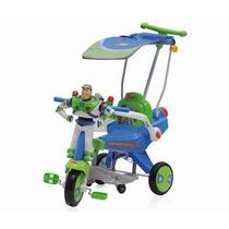 Triciclo Capota Usado Buzz Lightyear Habla Toys Tory Bebe