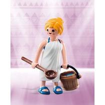 Retromex Playmobil 6841 Figura Chica Con Toalla #6 Serie 10