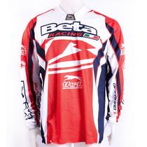 Jersey Motocross Beta Adultos Rojo-blanco - Mototimes