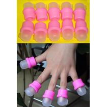 Capsulas P/ Remover Uñas Acrilicas,tratamiento De Hongos,etc
