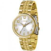 Relógio Lince Lrg4275l S2kx Feminino Dourado - Refinado