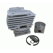 Cilindro Pistao Aneis Kit - Peças Roçadeira Vonder 52cc