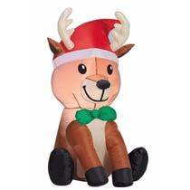 Navidad - Inflable De Reno Navideño - Navidad Envío Gratis