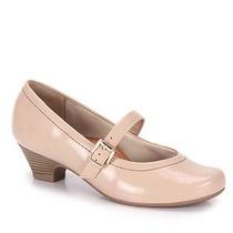 Sapato Boneca Salto Conforto Feminino Campesí - Nude