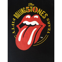 Camiseta De Rock Banda The Rolling Stones