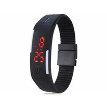 Relógio Digital Led Sport Resistente A Água Várias Cores