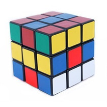 Cubo Magico Grande 3x3x3 Em Diversas Cores 5cm