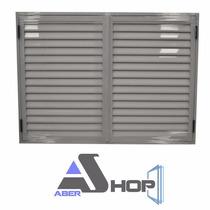 Postigon Aluminio 150x110 De Abrir 2 Hojas Abershop Oferta