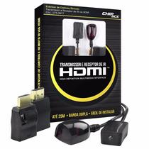 Extensor Controle Remoto 0877 Transmissor Receptor Ir Hdmi