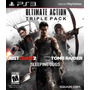 Tomb Raider + Just Cause 2 + Sleeping Mídia Física Ps3