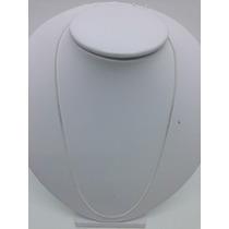Cordão Corrente Grumet Masculina 1,5m Prata 925 60cm +brinde