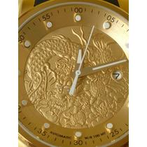 Relógio Invicta Yakuza 18215 Automático Original Ouro Oferta