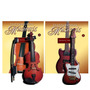 2 Miniaturas Instrumentos Musicais Guitarra Violino Salvat