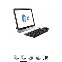Hp All In One 19-2114 Poco Uso, Con Sus Plásticos Y Garantia