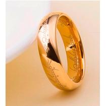 Anel Aliança Amor Élfico Senhor Dos Anéis Em Tungstênio Luxo