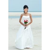 Vestido De Novia Usado Precioso Una Puesta