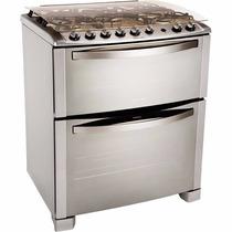 Cocina Electrolux 76dtx 5 Hornallas Doble Horno Grill Nuevas