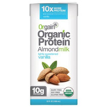 Orgain Orgánico Proteína De Vainilla Leche De Almendra 32 Fl