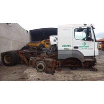 Caminhão Axor 3344 Sucata Para Retirada De Peças