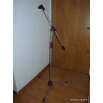 Paral Micrófono Boom Jirafa Tripode Metal Resistente