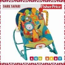 Silla Mecedora Fisher Price Dark Safari - La Mejor !!