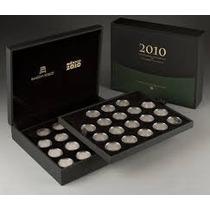 Colección Monedas 5 Pesos Centenario Bicentenario De Lujo