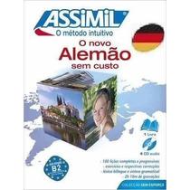 Livro Novo Alemão Sem Custo + Brinde Assimil Frances