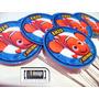 120 Tag Toten Topper Procurando Nemo Personalizado Festa