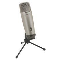 Samson C01u Pro Microfono Condensador Usb Profesional Studio
