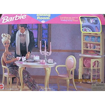 Juguete Barbie Playset Comedor Puede Ser Usado Cuando W Ple