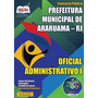 Apostila Concurso Pref. De Araruama Oficial Administrativo I