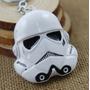 Chaveiro Star Wars Stormtrooper Branco Clone 5cm X 6cm