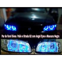 Par De Farol Angel Eyes Fiat Siena ,palio 01a 03