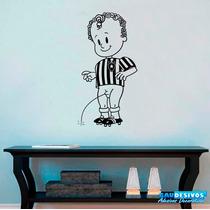 Adesivo Decorativo Mascote Time Do Botafogo - Menino