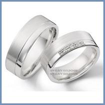 Argollas De Matrimonio Mod. Athena En Oro Blanco 18k Solido