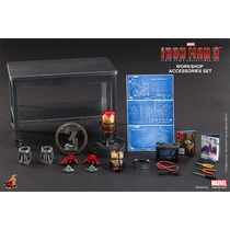 Iron Man 3 Workshop Accessories - Collectible Set - Hot Toys