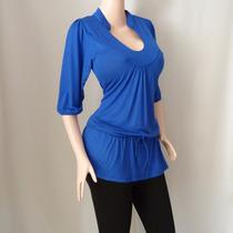 Blusa Dama Diseño Cordon A La Moda Para Gorditas. Ref: 2901