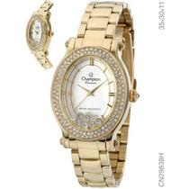 Relógio Feminino Champion Passion Dourado Cn29838h