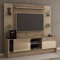Rack Com Painel Para Tv Lcd Led Plasma Space 1,88 Tv Até 50