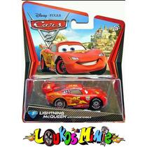 Disney Cars 2 Mcqueen Lacrado Original Mattel