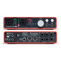 Placa De Sonido Interfaz Audio Usb Focusrite Scarlett 6i6