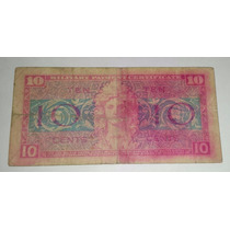 Usa Military Payment Certificate 10 Cents Series 521 *008