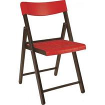 Cadeira De Madeira Tabaco E Plástico V - Tramontina