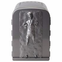 Mini Refrigerador Star Wars Hand Solo Freeze Para 6 Latas
