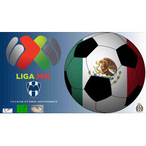 Poster Papel Club De Fútbol Monterrey 50x90 Liga Mx Rayados